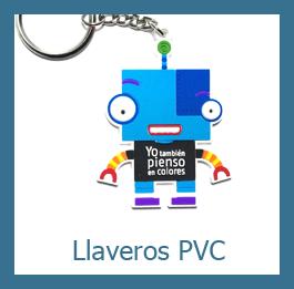 llaveros pvc personalizados