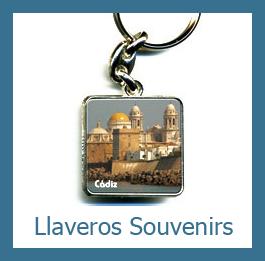 Llaveros souvenirs personalizados